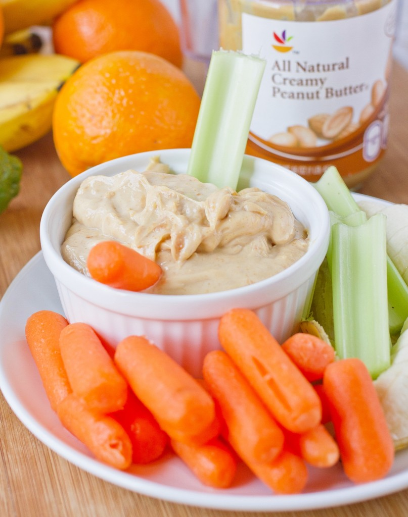 Fruity Peanut Butter Yogurt Dip Yield