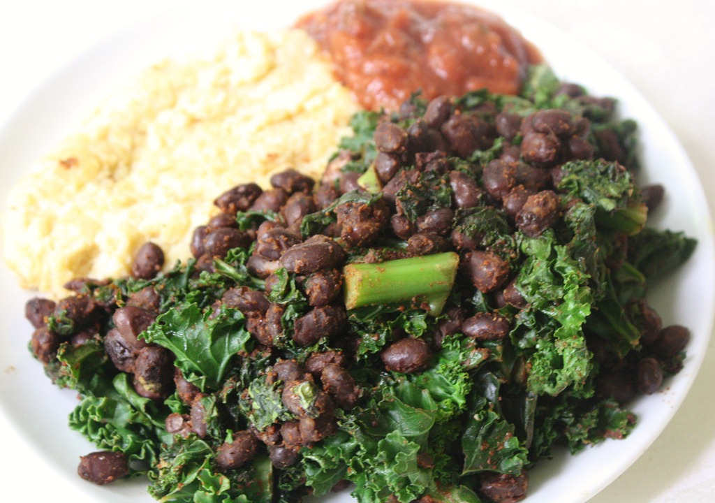 Black Bean And Kale Tacos   The Wannabe Chef