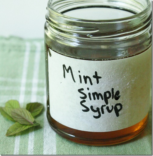 How-to-make-mint-simple-syrup