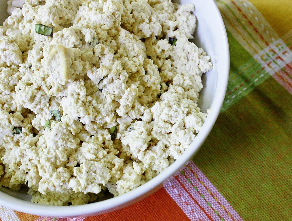 """Tofu """"Ricotta"""" Cheese(adapted from this recipe )"""