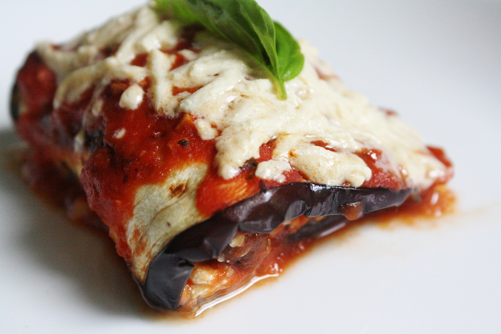 Grilled Eggplant Rollatini With Ricotta and Fava Bean Filling {Vegan ...