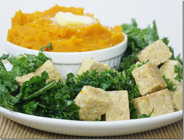 creamy-mashed-squash-plate
