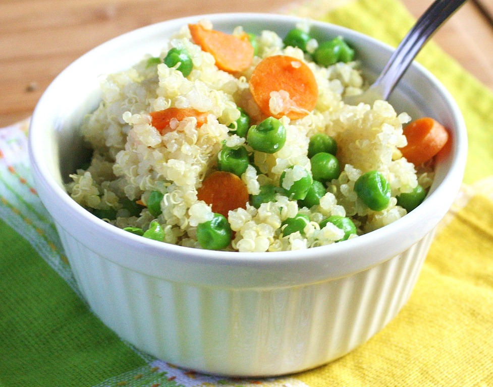 Peas and carrots quinoa the wannabe chef peas and carrots quinoa forumfinder Choice Image
