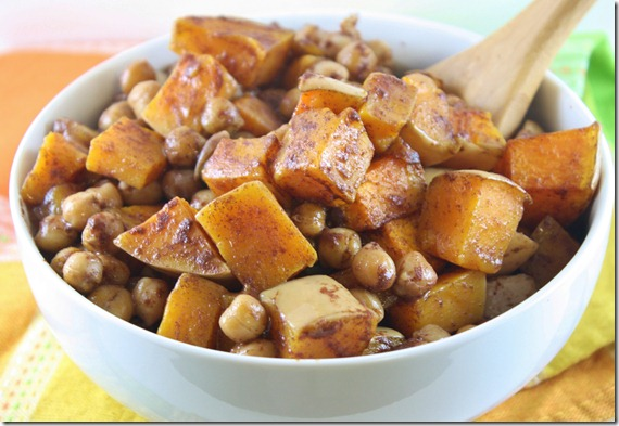 Roasted-Maple-Cinnamon-Chickpeas-And-Squash-cooked