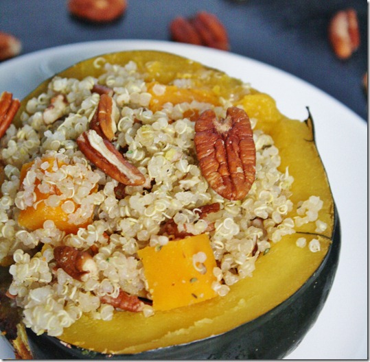 quinoa-pecan-stuffing-with-butternut-squash-topping