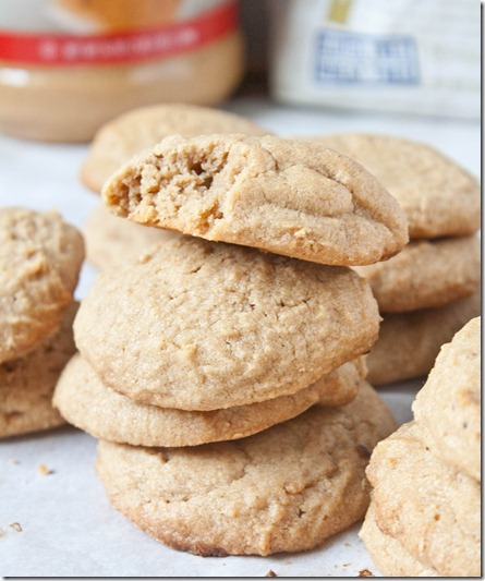 egg-free-peanut-butter-cookies-stack