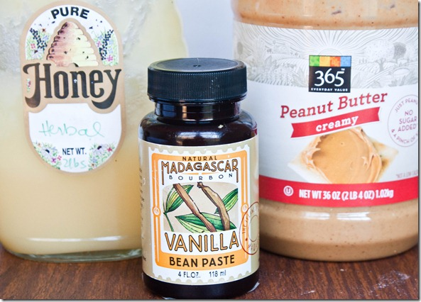 honey-vanilla-peanut-butter-ingredients