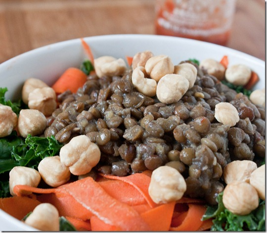 maple-siracha-lentils-bowl