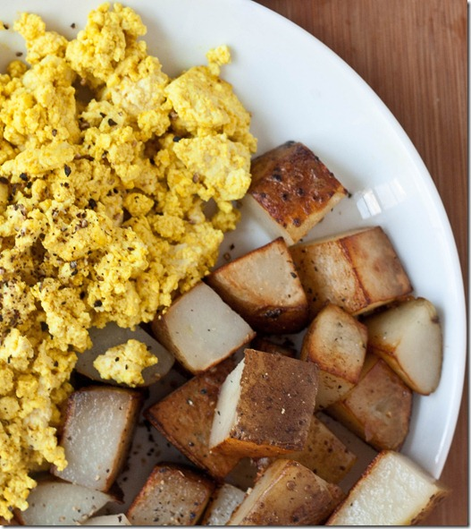 Scrambled-Tofu-and-potatoes