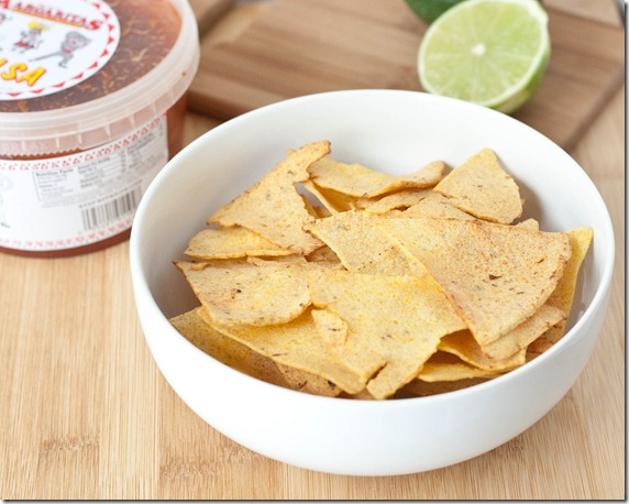 Homemade Lime Tortilla Chips | The Wannabe Chef