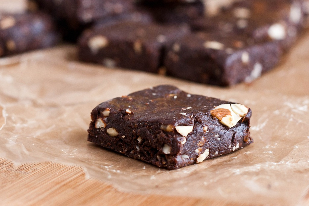 the last time i made raw brownies i didn t share the recipe i wasn t ...