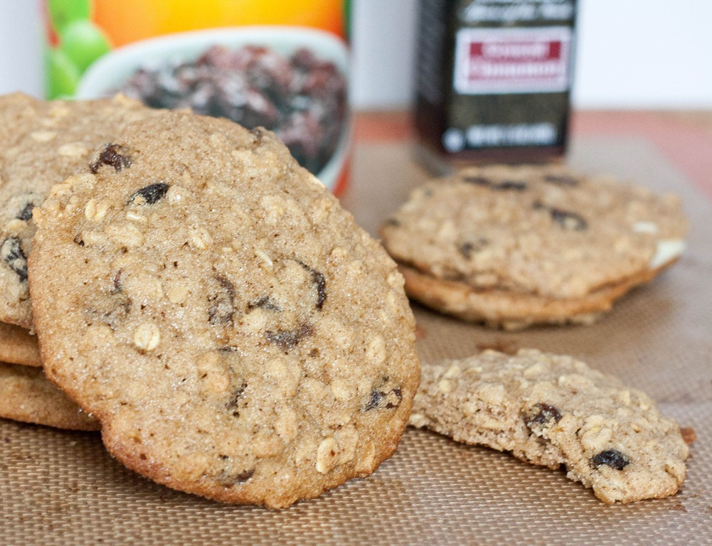 chai oatmeal raisin cookies oatmeal raisin cookies vegan gluten free ...