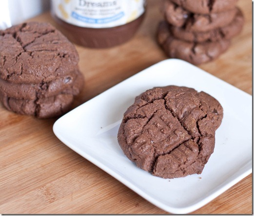 Double Chocolate Peanut Butter Cookies | The Wannabe Chef