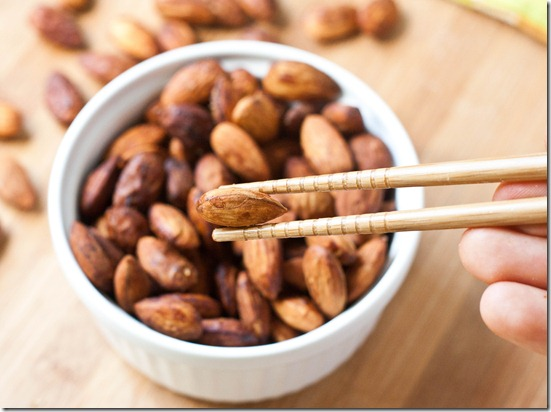 homemade-tamari-almonds-chopsticks