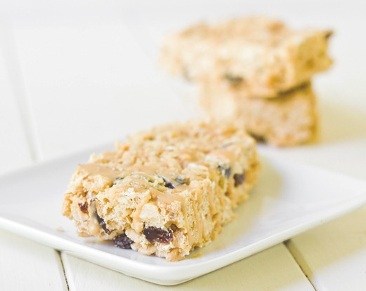 White Chocolate Peanut Butter Granola Bars(2)