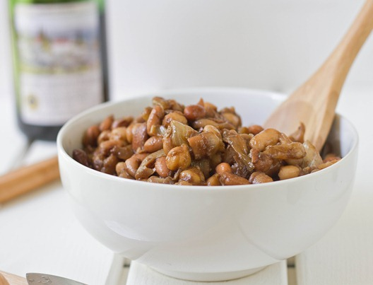 Caramelized Onion and Balsamic Vinegar Bean Salad | The Wannabe Chef