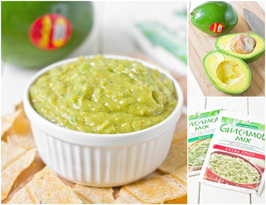 Guacamole Giveaway Collage
