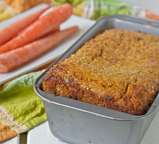 Gluten-Free Carrot Bread Loaf