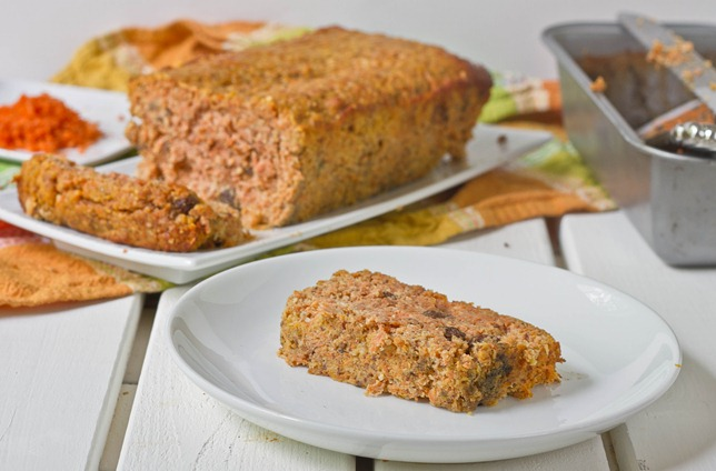 Gluten-Free Carrot Bread Slice