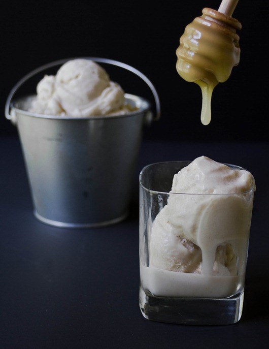 Honey Ginger Ice Cream | The Wannabe Chef