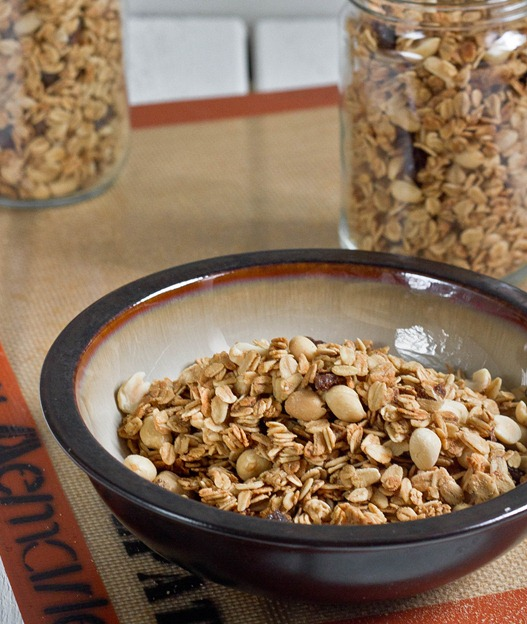 Peanut Butter Granola Serving