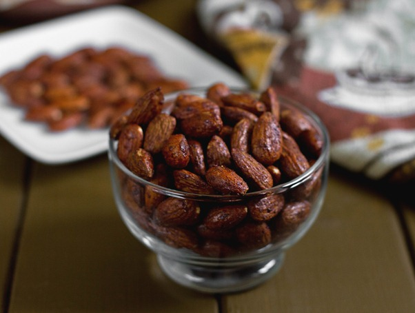 Pumpkin Spice Almonds Yield