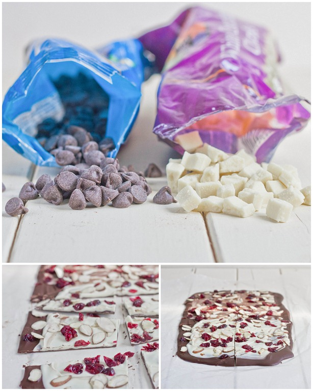 sweetened or unsweetened dried cherries 1 2 cup shaved almonds