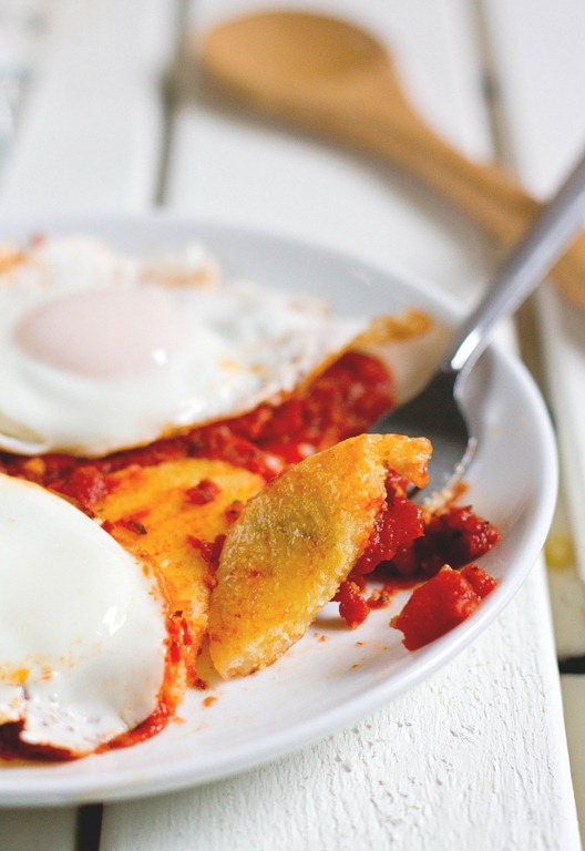 Easy Polenta And Eggs Bite