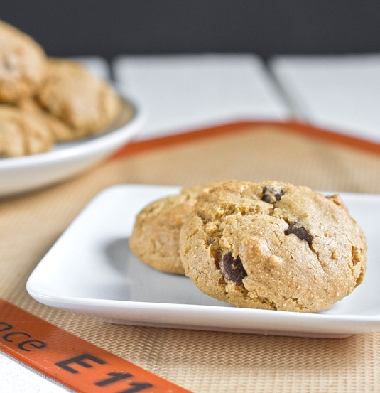 Gluten-Free Pumpkin Chocolate Chip Cookies Serving