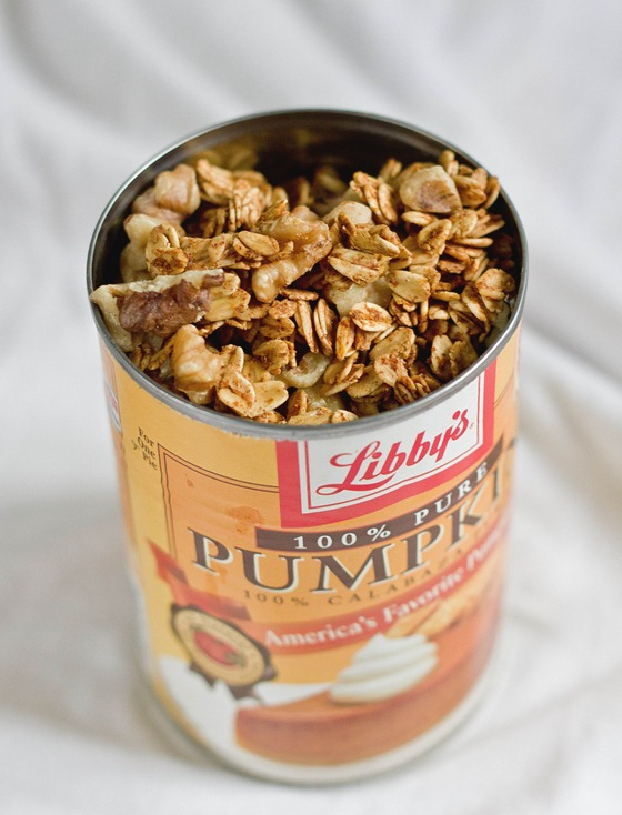 Homemade Pumpkin Granola Yield