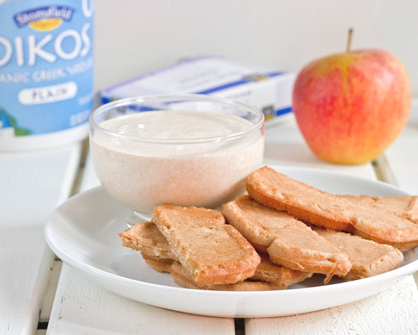 Maple Cinnamon Cream Cheese Dip Breakfast