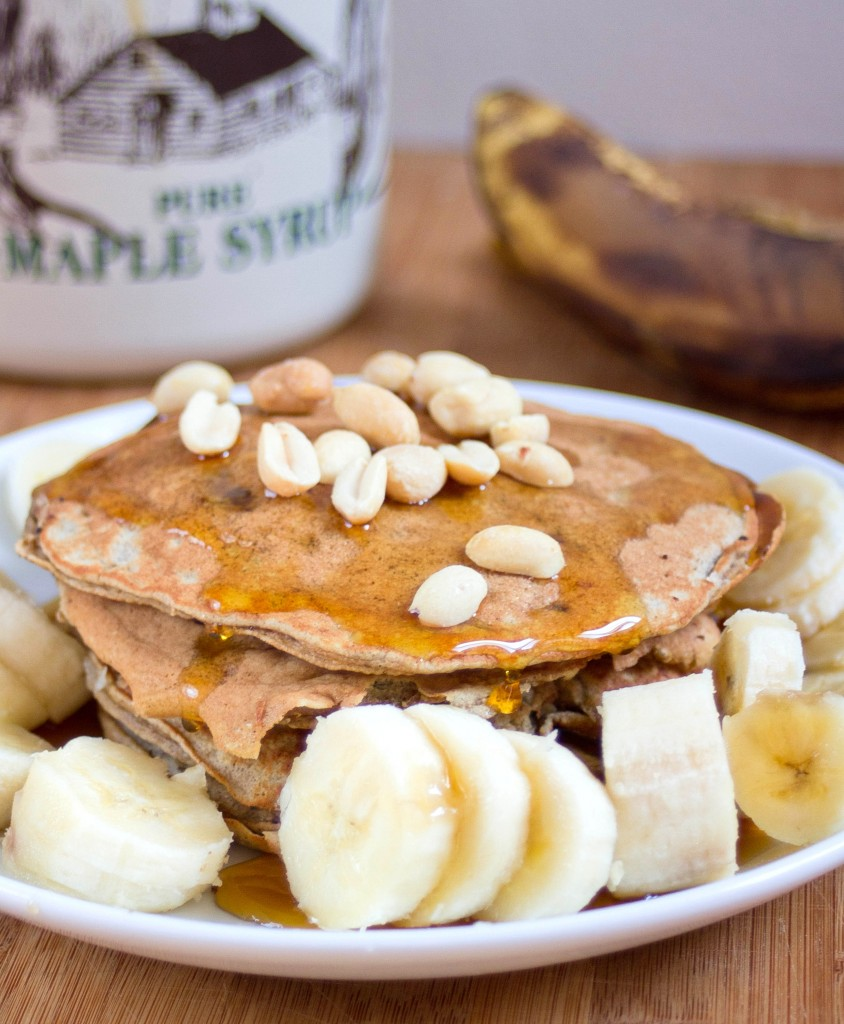 Gluten-Free Banana Pancakes | The Wannabe Chef
