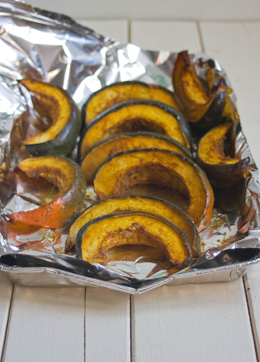 Maple Curry Acorn Squash