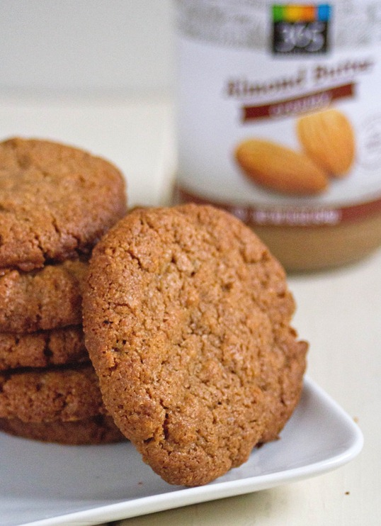 spiced almond butter cookies yield
