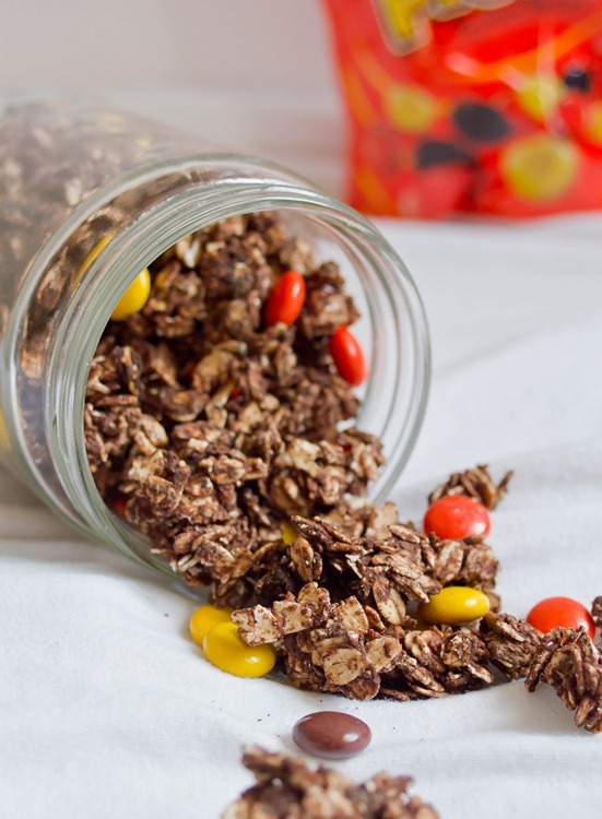 Reese's Pieces Granola