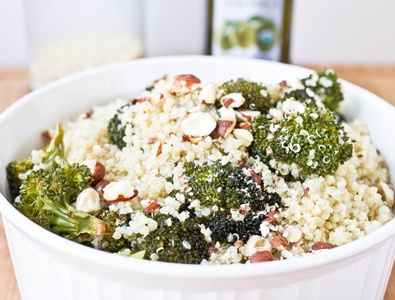 Roasted Broccoli Quinoa
