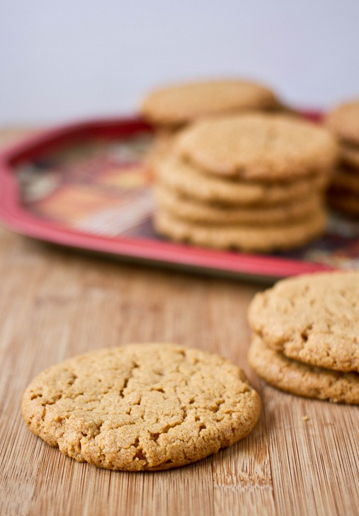 Vanilla-Almond Butter Cookies Naked
