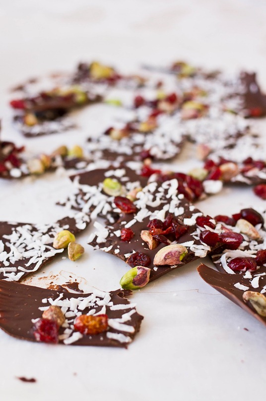 Coconut Pistachio Bark Pieces