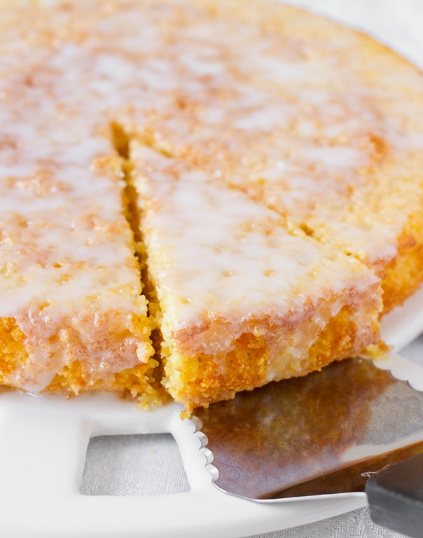 Lemon Cornmeal Cake Recipe