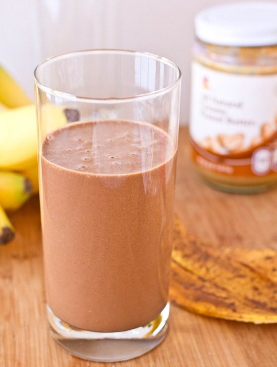 Peanut Butter Banana Breakfast Smoothie Yield