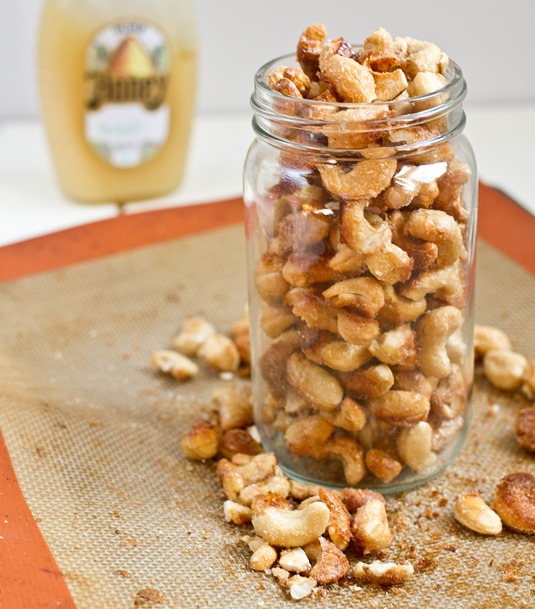 Homemade Honey Roasted Cashews Yield