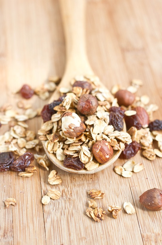 Maple Hazelnut Granola Sample