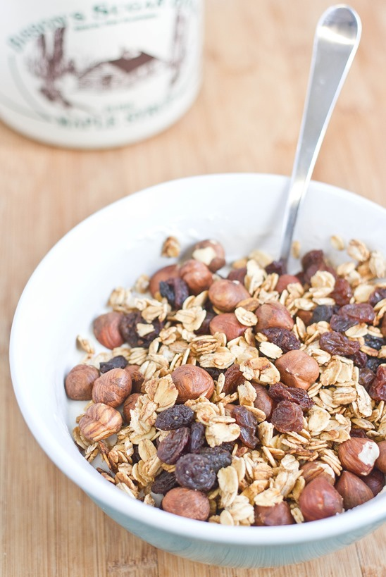 Maple Hazelnut Granola