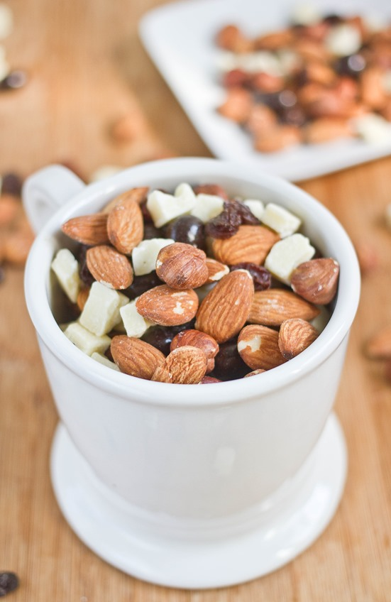 Hazelnut Mocha Trail Mix Cup