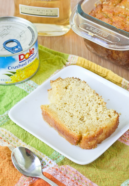 Gluten-Free Pineapple Rum Bread