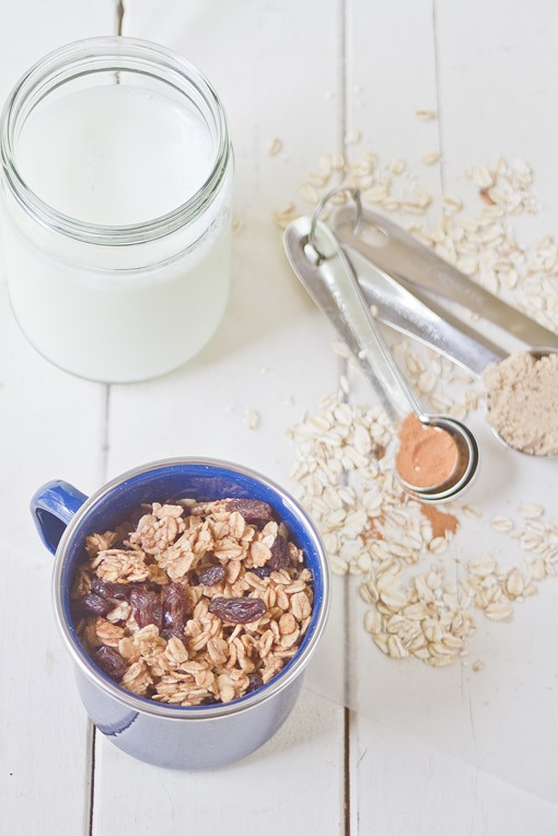 Low-Fat Cinnamon Brown Sugar Granola
