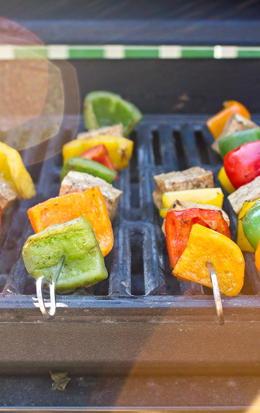 Vegetarian Grilling On Grill