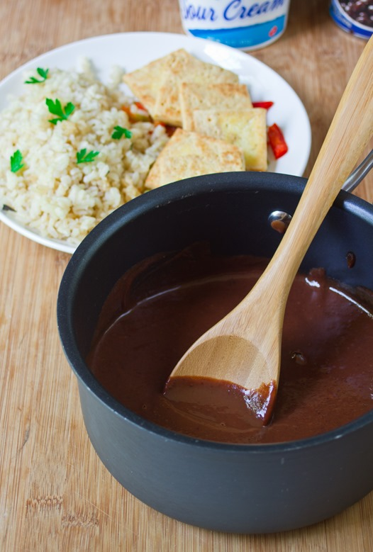 Black Bean Mole Sauce Yield