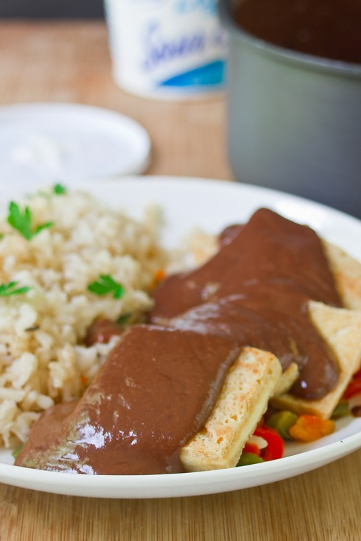 Black Bean Mole Sauce