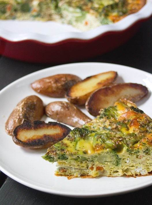 Easy Broccoli Frittata